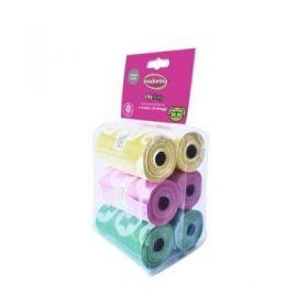 Inodorina City Bag Sacchetti Igienici Colorati 6 Rotoli da 20 pezzi