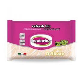 Inodorina Refresh Bio - 30 Salviette Detergenti - Profumazione Delicato