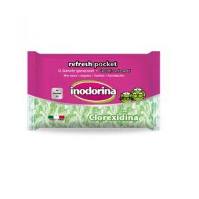 Inodorina Refresh Salviette Pocket Clorexidina 15 pezzi