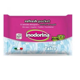 Inodorina Refresh Salviette Pocket Talco 15 pezzi