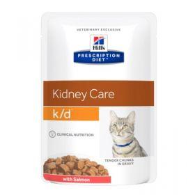 Hill's Prescription Diet k/d Gatto con Salmone 12x85 gr