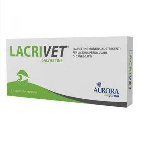 Lacrivet Salviettine oculari 15 pezzi - Aurora Biofarma
