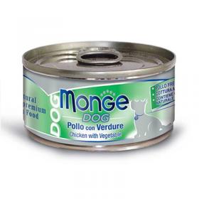Monge Dog Pollo con Verdure 95 gr.