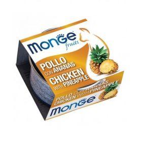Monge Fruits Gatto Pollo con Ananas 80 Gr
