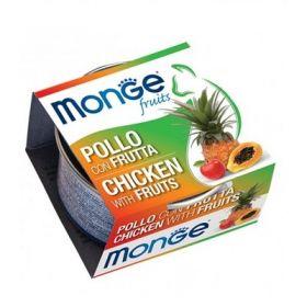 Monge Fruits Gatto Pollo con Frutta 80 Gr