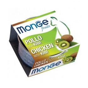 Monge Fruits Gatto Pollo con Kiwi 80 Gr