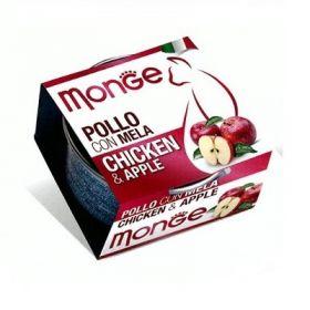 Monge Fruits Gatto Pollo con Mela 80 Gr