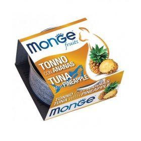 Monge Fruits Gatto Tonno con Ananas 80 Gr