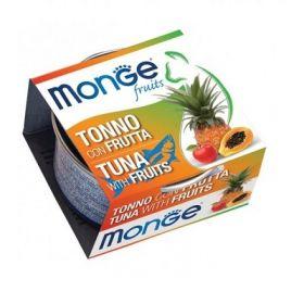 Monge Fruits Gatto Tonno con Frutta 80 Gr