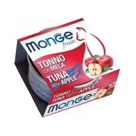 Monge Fruits Gatto Tonno con Mela 80 Gr