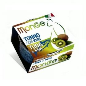 Monge Fruits Gatto Tonno e Kiwi 80 Gr