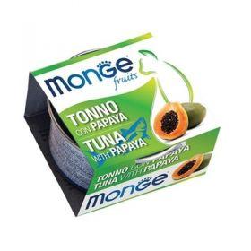 Monge Fruits Gatto Tonno e Papaya 80 Gr