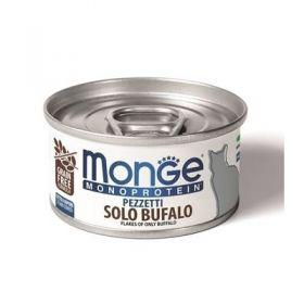 Monge gatto monoproteico sfilaccetti di Bufalo da 80 gr