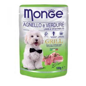 Monge Grill Agnello e Verdure Buste da 100 gr.