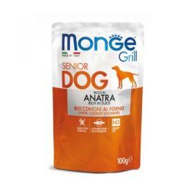 Monge Grill Cane con Anatra Buste da 100 gr.