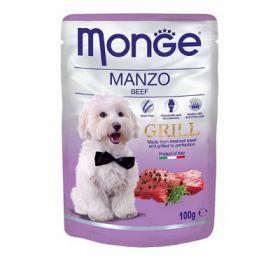 Monge Grill Manzo Buste da 100 gr.