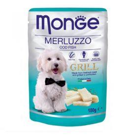 Monge Grill Merluzzo Buste da 100 gr.