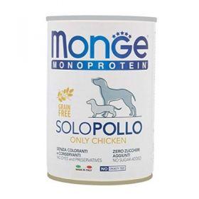 Monge Monoproteico Solo Pollo gr.400