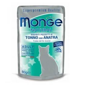 Monge Superpremium Natural Gatto Tonno e Anatra 80 Gr