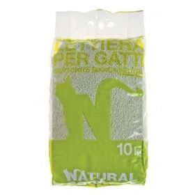 Natural Code Lettiera Bentonite Neutra Sabbie per Gatto 10 Kg.