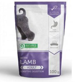 Nature's protection Sensitive digestion Adult dog con Agnello - Cibo umido per Cani Adulti 100 Gr.
