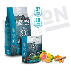 Necon natural wellness gatto adult sterilizzato Pesce Bianco e riso 400 gr