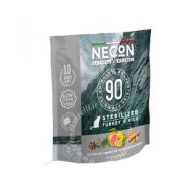 Necon natural wellness gatto adult sterilizzato tacchino e riso 400 gr