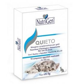 Nutrigen Quieto Gatto 500 Mg - 10 Tavolette