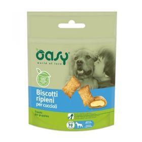 Oasy Cane Biscotti ripieni Cani Cuccioli 70 gr