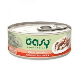 Oasy Cat Adult Specialità Naturali Pollo con Manzo Gatto da 70 gr