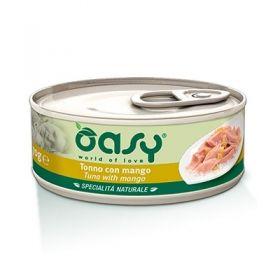 Oasy Cat Adult Specialità Naturali Tonno con Mango Gatto da 70 gr