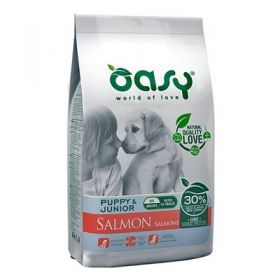Oasy Dog Puppy & Junior Cane all Breeds Salmone  2,5 Kg
