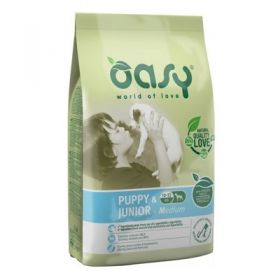 Oasy Dog  Puppy & Junior Medium Cane 12 Kg