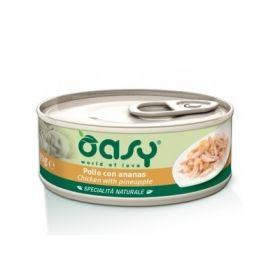Oasy Gatto Specialità Naturale Pollo con Ananas 70 Gr