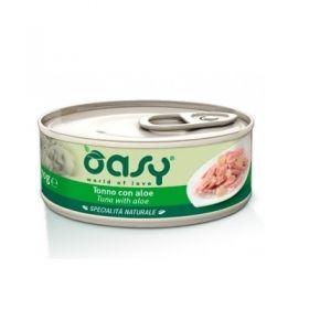 Oasy Gatto Specialità Naturale Tonno con Aloe 150 Gr