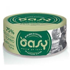 Oasy Wet Cat More and love Gatto con Pollo e Tonno 70 gr