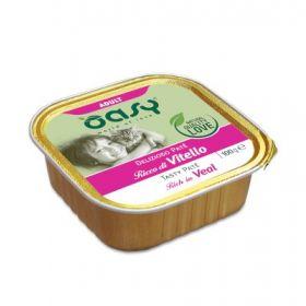 Oasy Wet Cat More and love Kitten con Uova per Gattini 70 gr