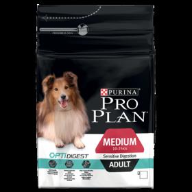 Purina pro Plan Adult Medium Sensitive Digestion OptiDigest 3 Kg