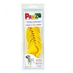 Pawz Dog Scarpette per Cani Taglia XXS Giallo