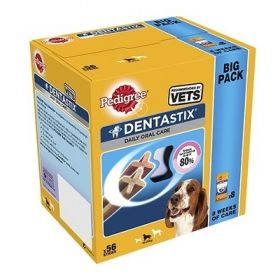 Pedigree Dentastix Daily Oral Care Medium per Cani da 56 pezzi