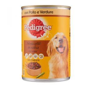 Pedigree Straccetti in salsa pollo e verdure lattina 400 gr. - Cibo Umido per cane