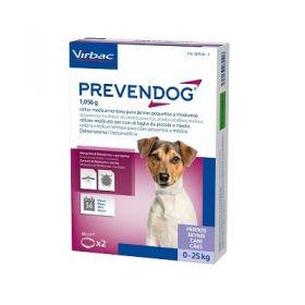 Virbac Prevendog 2 collari antiparassitari per cane sotto i 25 kg - 60 cm