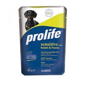 Prolife Wet Dog Adult Mini Sensitive Coniglio e Patate 100 Gr