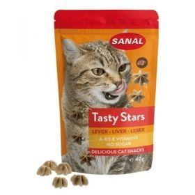 Record Sanal Tasty Star al Fegato 40 gr - Snack per Gatto
