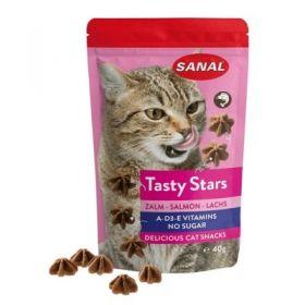 Record Sanal Tasty Star al Salmone 40 gr - Snack per Gatto