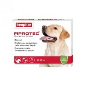 Beaphar Fiprotec Cane Grande 20-40 kg.268 mg 3 pipette