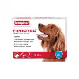 Beaphar Fiprotec Cane Medio 10-20 kg.134 mg 3 pipette