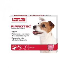 Beaphar Fiprotec Cane Piccolo 5-10 kg. 67 mg 3 pipette