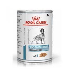 Royal Canin Veterinary Diet Sensitivity Cane Control Pollo e Riso 420 gr.