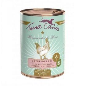 Terra Canis Grain Free Cibo per Cani con Pollo, Pastinaca, Dente di leone e camomilla 400 gr